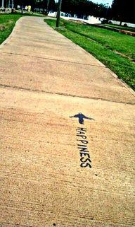 running = happiness