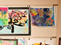 5 Ways to Display Your Kids' Artwork | DIY Your Way