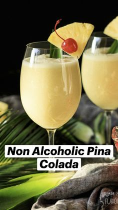 Drink Recipes Nonalcoholic, Alcohol Drink Recipes, Non Alcoholic Drinks, Cocktail Drinks, Summer Drink Recipes, Spring Cocktails, Pineapple Drinks, Fruit Drinks, Healthy Drinks