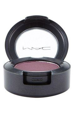 A deep plum eye powder for a more sultry look.