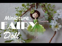 DIY Green Miniature Flower Fairy Doll | Búp Bê Tiên Xanh Mini | Huong Harmon - YouTube Silk Flowers, Fabric Flowers, Christmas Fairy, Christmas Ornaments, Fairy Dolls, Handmade Items, Handmade Dolls, Diy Doll, Craft Stores