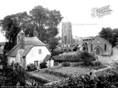 Old Cleeve, St Andrew's Church And Cottage 1930, from Francis Frith