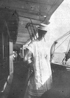 Alix onboard the Standart