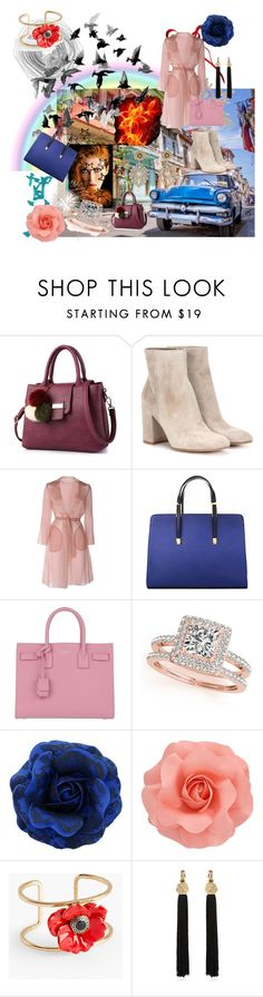 """""""Elma"""" by corys1109 on Polyvore featuring Ciel, Gianvito Rossi, MaxMara, Yves Saint Laurent, Allurez, Talbots and Miguel Ases"""