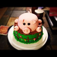 Pig Cake  Cake by mallorieh