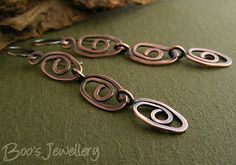 Oval swirl bracelet by Boo's Jewellery