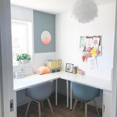 "Nice home office.  ✨L i n d a   J o h a n s e n ✨ (@lindajohansen86) på Instagram: ""|| W o r k s p a c e || _______________________________________________ #workspace #workspaceinspo…"""