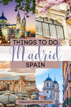 The ultimate guide to all the best things to do in Madrid, Spain! All the most amazing things to do in the Spanish capital, plus travel tips! Read it now! #spain #spaintravel #madridtravel #madrid #europe Europe Destinations, Europe Travel Tips, European Travel, Places To Travel, Oregon, Backpacking Spain, Madrid Travel, Spain Culture, Spain Travel Guide