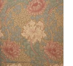 William Morris Chrysanthemum Tapet