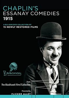 Chaplin's Essanay Comedies: His New Job, A Night Out, The Champion, In the Park, A Jitney Elopement, The Tramp, By the Sea, His Regeneration, Work, A Woman, The Bank, Shanghaied, A Night in the Show, Charlie Chaplin's Burlesque on Carmen, and Police - Blu-Ray/DVD Box Set (Flicker Alley Region A/1) Release Date: November 17, 2015 (Amazon U.S.)