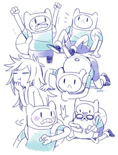 Adventure Time Find X Fiona Adventure Time Adventure Time Anime, Adventure Time Drawings, Adventure Time Marceline, Adventure Time Zeichnungen, Adveture Time, Finn The Human, Jake The Dogs, Bubbline, Anime Version