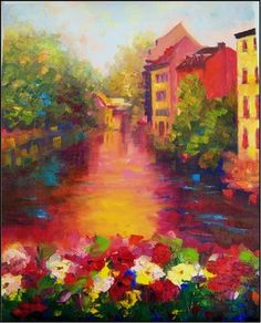 Strasbourg Canal by Maryanne Jacobsen