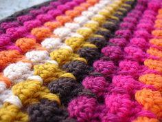 Labores en Red: 2173.-Técnica Crochet: punto Larksfoot