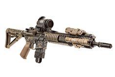 / Trijicon, Inc. M&p 15 Sport, Daniel Defense, Ar Rifle, Combat Armor, Military Guns, Surefire, Assault Rifle, Cool Guns, Firearms