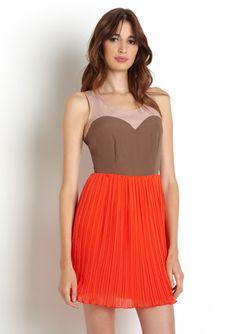ARK & Co Sleeveless Colorblock Dress
