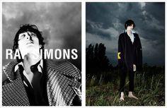 Luca Lemaire for Raf Simons Fall Winter 2016.17