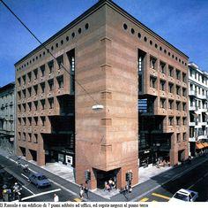 Ransila I - Mario Botta, Lugano, Switzerland (1985/1990)