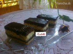 Žerbové rezy tvarohové (fotorecept) Cake, Basket, Pie Cake, Pastel, Cakes, Cookie