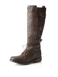 71% OFF J SHOES Women's Zen Boot (Dark Brown)