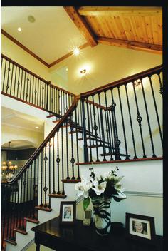 Gorgeous stair case