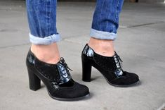 906680f3a5 Montclair - Oxford Pumps, Womens Oxfords, Casual Shoes, Oxford Heels,  Leather Shoes, Custom Shoes, F
