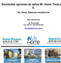 Excelentes opciones de aptos Mr. Home Tiene para ti. -Publicidad