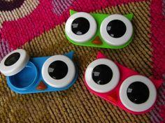 Owl Contact Lens Case – $4
