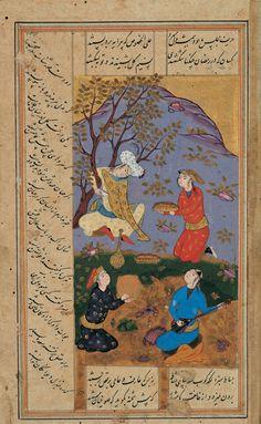 scene from sa'adi's bustan 17s