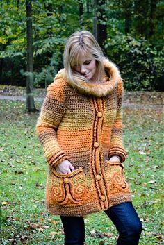 Autumn leaves by Artika - SAShE.sk - Handmade Sweaters / Pullovers