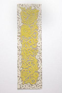 Azzarita Tufted Rug #anthropologie 2.5x9 $398