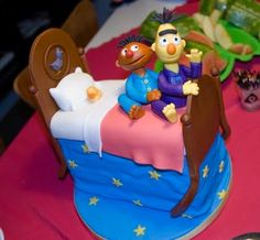 Bert and Ernie cake