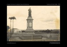 Estátua do Padre Ovídio 1919 - Acervo da Casa de Rui Barbosa