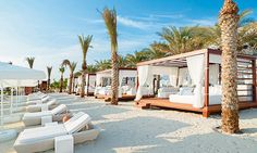 EDEN Beach Club // on The Palm, AED100 entry
