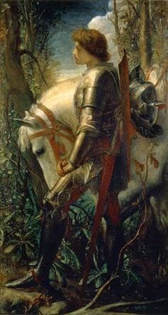 Sir Galahad by George Frederic Watts