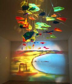Rashid Alakbarov Baku, Azerbaijan  got a great idea to make art with shades of objects  https://www.facebook.com/media/set/?set=a.118588208159458.15675.118587544826191&type=3