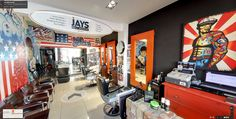 Virtual tour of Jays Male Grooming