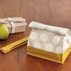 紙袋のような おしゃれ&かわいいお弁当袋の作り方(布小物) | ぬくもり Lunch Bag Tutorials, Fabric Yarn, Photoshoot Inspiration, Handmade Bags, Sewing Crafts, Diy And Crafts, How To Make, Clothing Patterns, Crafting