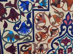 Quilting Blog - Cactus Needle Quilts, Fabric and More: The Tentmakers of Cairo Quilt Exhibit