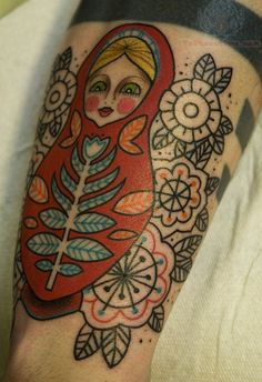 Matryoshka Tattoos Pictures and Images : Page 22
