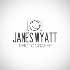 Gallery of 12 photography logo ideas images photography business logo ideas - water mark logos Photography Logo Design, Modern Photography, Photography Website, Photography Business, Photography Names, Wedding Photography, Business Coach, Business Card Logo, Watermark Ideas