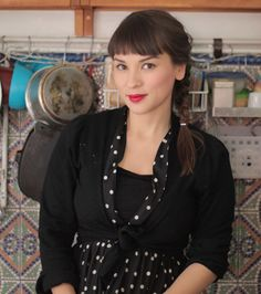 Rachel Khoo :) Saw her for the first time today and think she is adorable!