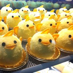 "If you have a plan to visit Nagoya, I highly recommend to stop by Cafe Gentiane Leger located at Nagoya Station. Look this cute pudding named Piyorin! Nagoya is famous for chickens called ""Nagoya cochin"" and the pudding is made of Nagoya Cochin's eggs. If you have a chance to visit Nagoya, there is no other choice but eat them!"