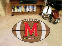 The Maryland Terrapins Football Mat by FanMats.  An awesome area run made in the USA.