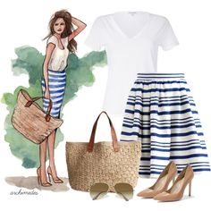 """""""Sketch Artist: Beachy"""" by archimedes16 on Polyvore"""