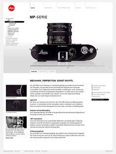 Leica Camera by DOMINIK LAMMER, via Behance