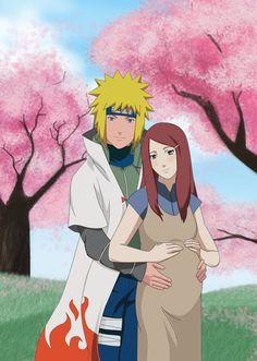 minato y kushina Naruto Minato, Anime Naruto, Naruto Cute, Naruto Shippuden Anime, Manga Anime, Naruhina, Sasunaru, Uzumaki Family, Anime Characters