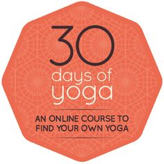 A course in finding, and keeping, your own home practice of yoga.    I've taken this course and loved it!