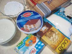 Rulada de biscuiti cu mascarpone si nuca de cocos - Rețete Merișor Coco, Biscuit, Cooking Recipes, Sweets, Desserts, Mascarpone, The Sea, Kuchen, Tailgate Desserts
