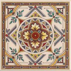 Azulejos con dibujos - azulejo decorativo ENC Inserción