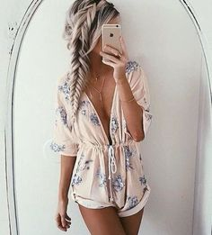 Fun Romper. Find your Inspiration @ #DapperNDame Pinterest. dapperanddame.com